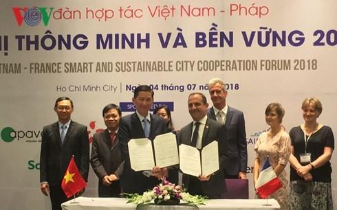 法国向越南分享智慧城市建设经验 hinh anh 1