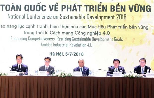 政府总理阮春福:促进可持续发展是全社会的共同责任 hinh anh 1