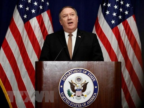 美国国务卿迈克•蓬佩奥即将访问越南 hinh anh 1