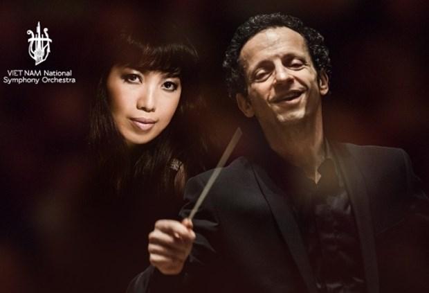 法国乐队指挥家与越南国家交响乐团同台表演 hinh anh 1
