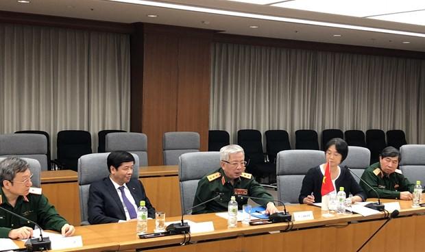 越南与日本举行第六次国防政策对话会 hinh anh 2