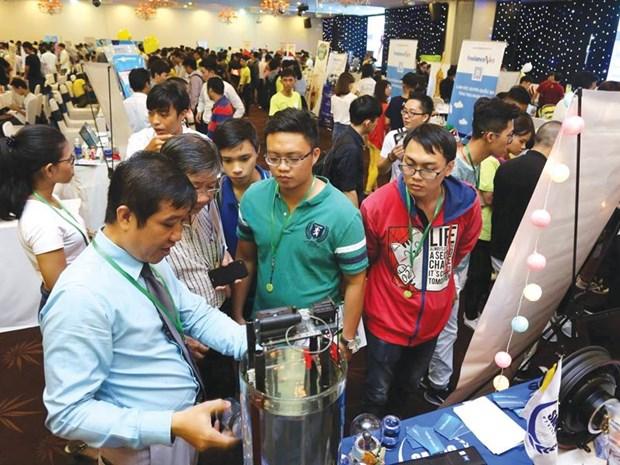 越南吸引近100个创新创业投资项目 hinh anh 1