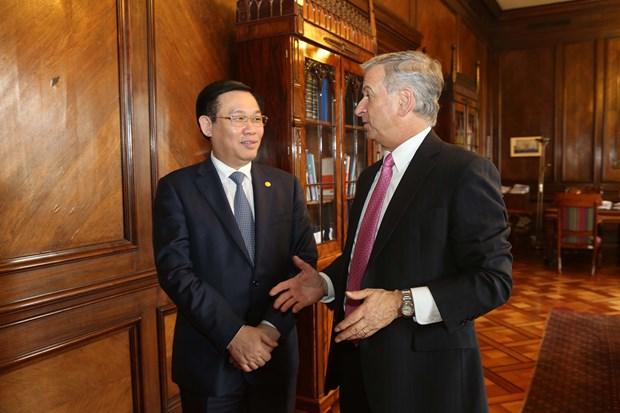 越南政府副总理王廷惠对智利共和国进行正式访问 hinh anh 3