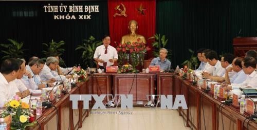 陈国旺: 平定省应注重社会保障和新农村建设工作 hinh anh 2