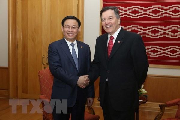 越南政府副总理王廷惠对智利共和国进行正式访问 hinh anh 1