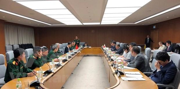 越南与日本举行第六次国防政策对话会 hinh anh 1