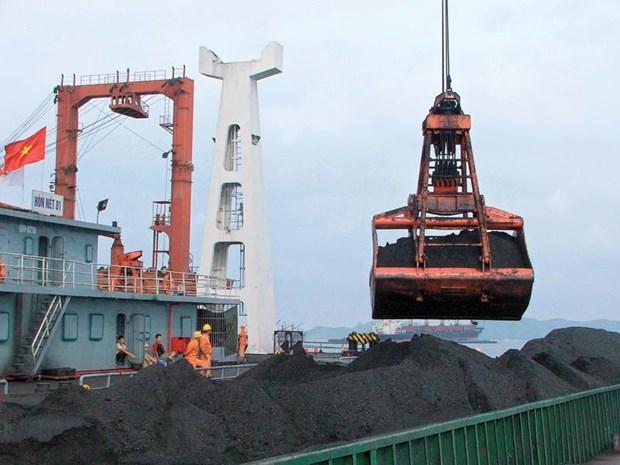 日本成为越南煤炭最大的出口市场 hinh anh 1
