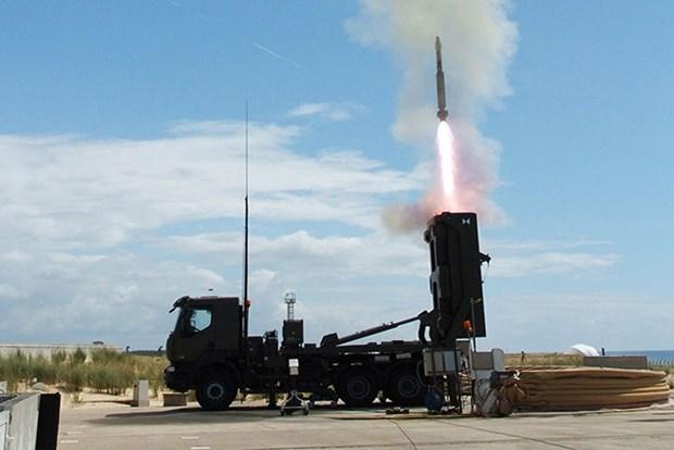 新加坡新一代地对空导弹系统正式投役 hinh anh 1