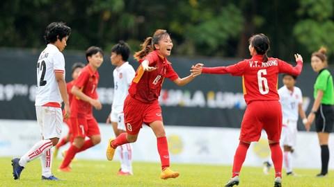 越南女足在东南亚锦标赛上取得二连胜 hinh anh 1