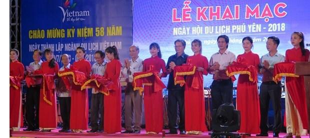 """题为""""颇具吸引力和亲和力的旅游目的地""""的富安省旅游节开幕 hinh anh 1"""