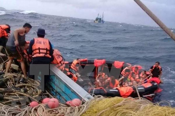 泰国普吉岛沉船事故:仍有40多人下落不明 hinh anh 1