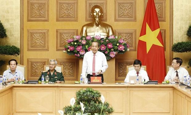 政府副总理张和平:英雄母亲和烈士家属的功劳是无法衡量的 hinh anh 1