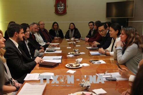 越南妇女代表团访问阿根廷 hinh anh 1