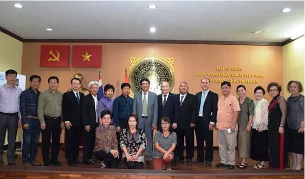 首个越南语培训班在泰国首都曼谷开班 hinh anh 1