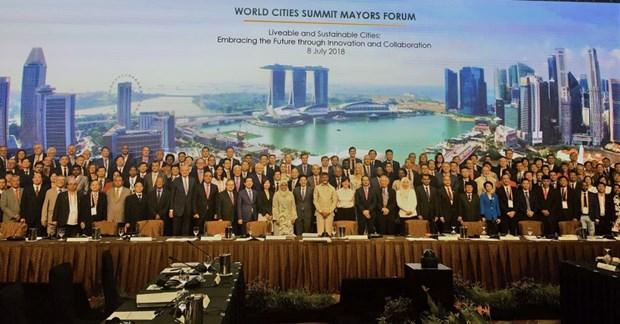 越南出席2018年世界城市峰会市长论坛 hinh anh 2