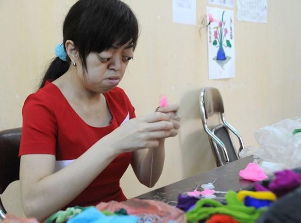 一名美国热心妇女竭尽全力帮助越南橙毒剂受害者 hinh anh 1