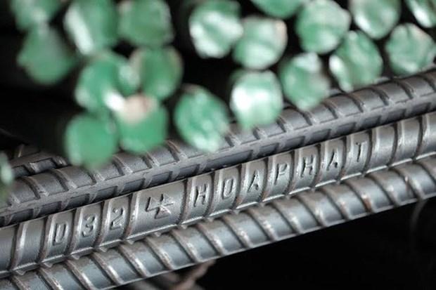 今年上半年和发集团建筑钢材产量小幅增长 hinh anh 1