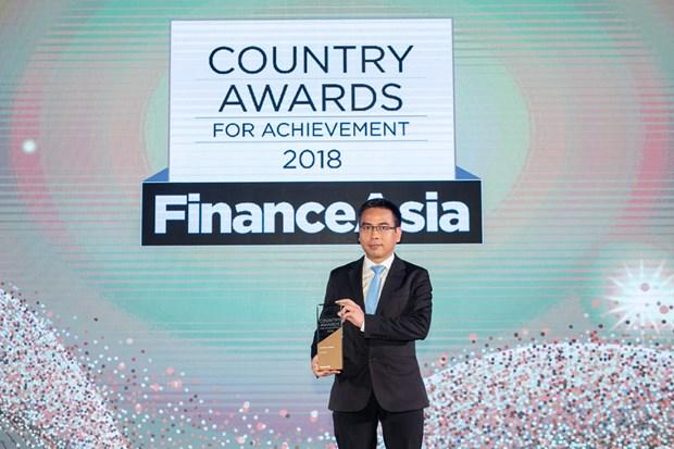"""越南外贸股份商业银行被评为""""2018年越南最佳银行"""" hinh anh 1"""
