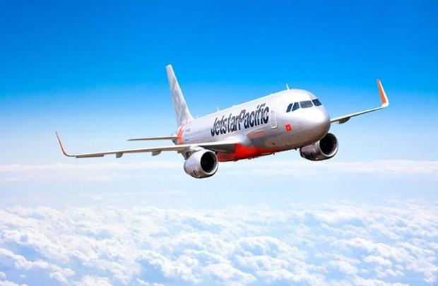 捷星太平洋航空一架飞机因鸟撞在同海机场停留多小时 hinh anh 1