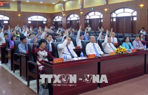 岘港市人民议会第七次会议:阮儒忠当选岘港市人民议会主席 hinh anh 1