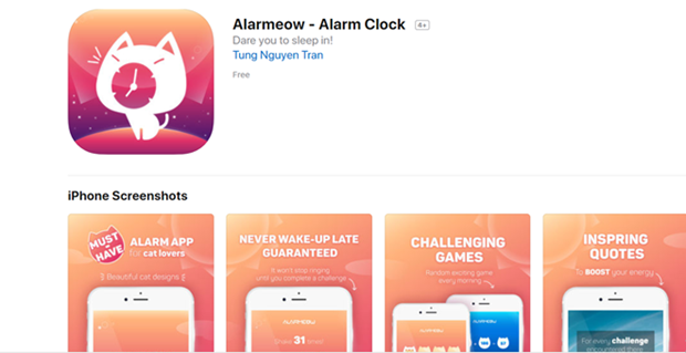 越南首个手机闹钟软件获得许多好评 hinh anh 1