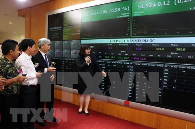 第二季度越南衍生证券市场合约成交量翻一番 hinh anh 1