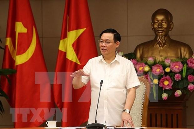 王廷惠主持召开政府价格调控指导委员会会议 hinh anh 2