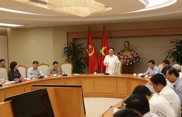 王廷惠主持召开政府价格调控指导委员会会议 hinh anh 1