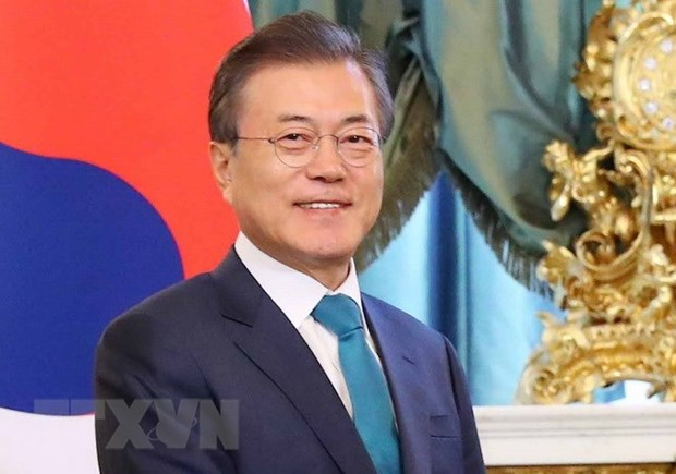 韩国总统对新加坡进行访问 hinh anh 1