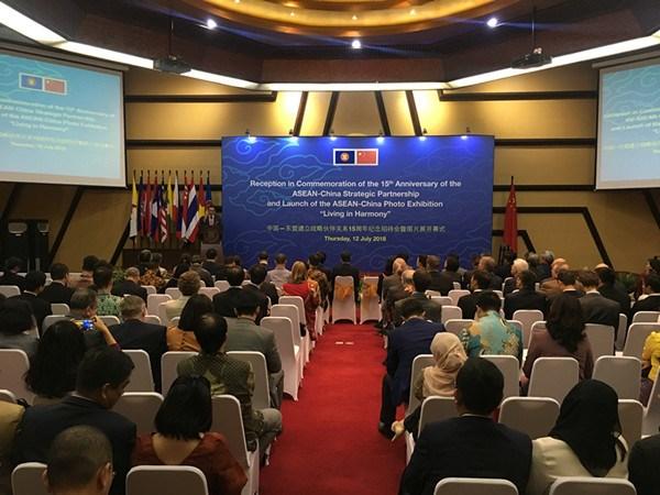 促进东盟与中国战略伙伴关系 hinh anh 1