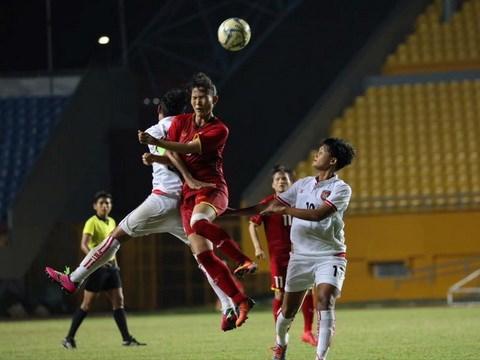 2018年东南亚女足锦标赛:越南队将与缅甸队进行季军争夺赛 hinh anh 1