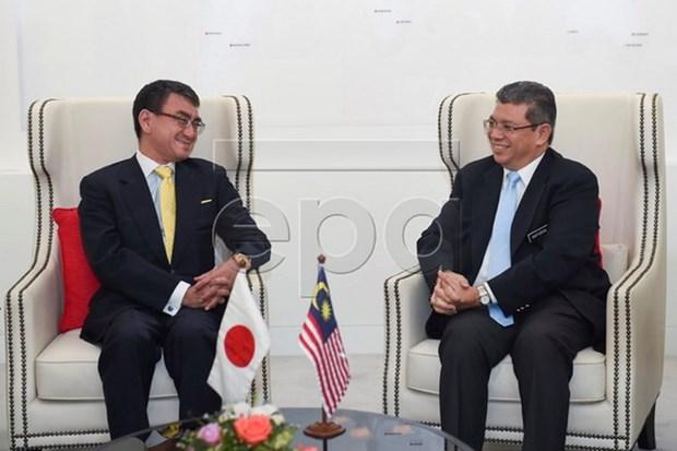 日本将向马来西亚提供2艘巡逻船 hinh anh 1