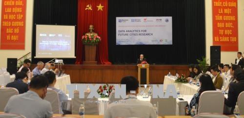 未来城市研究的数据分析研讨会在岘港举行 hinh anh 1