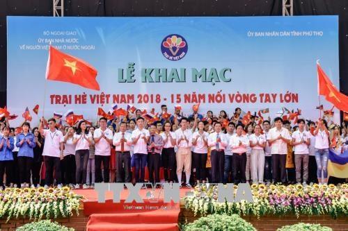 2018年越南夏令营继续在富寿省举行 hinh anh 1
