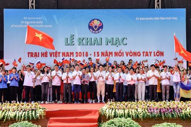 越南夏令营:激发海外青年侨胞对越南祖国家乡的自豪感 hinh anh 1