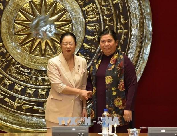 女议员合作是越日两国国会合作的新内容 hinh anh 1