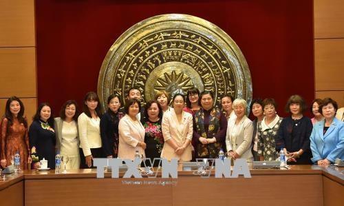 女议员合作是越日两国国会合作的新内容 hinh anh 2