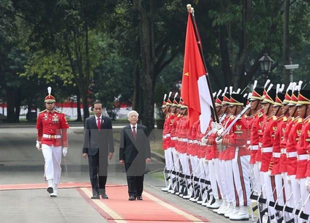 越南与印度尼西亚深化两国战略伙伴关系 hinh anh 1