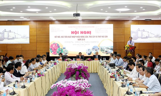 越南老街省与中国云南省举行会议助力农产品进出口 hinh anh 1