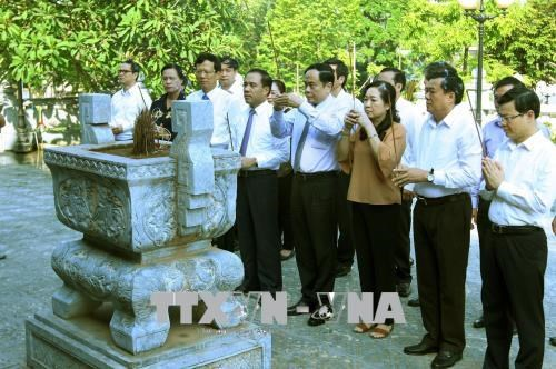 越南祖国阵线中央委员会主席陈青敏赴宣光省调研 hinh anh 2