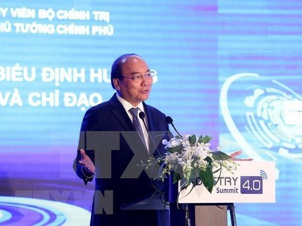 """越南政府总理阮春福:把握机会 早日登上""""4.0之船"""" hinh anh 2"""