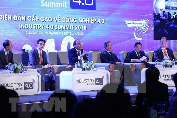 """越南政府总理阮春福:把握机会 早日登上""""4.0之船"""" hinh anh 3"""