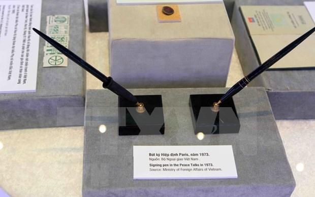 """""""巴黎会议—走向和平之路""""展览会展出了许多已解密的档案资料 hinh anh 1"""