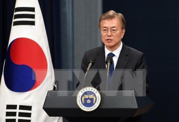 韩国总统高度评价东盟对维护和平与繁荣的作用 hinh anh 1
