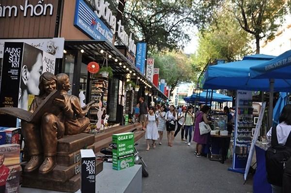 胡志明市图书街为该市经济发展注入新动力 hinh anh 1