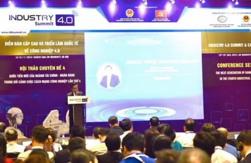 越南银行金融机构主动研究和应用工业4.0先进技术 hinh anh 1