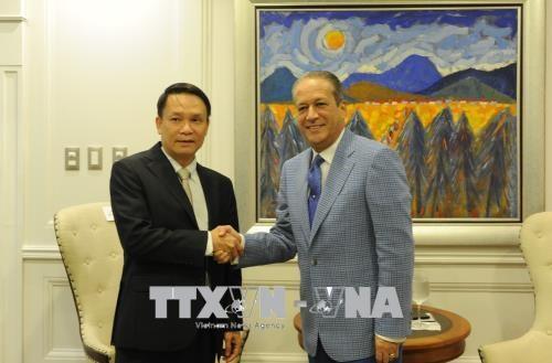 多米尼加领导均表示希望发展对越南关系 hinh anh 1