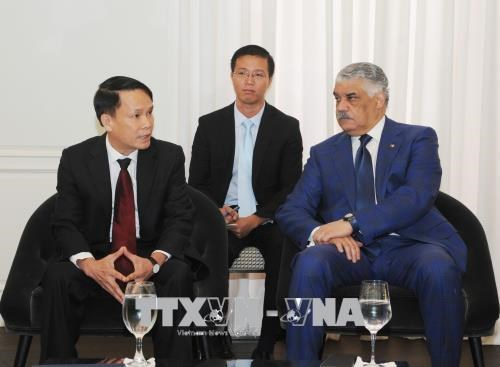 多米尼加领导均表示希望发展对越南关系 hinh anh 2