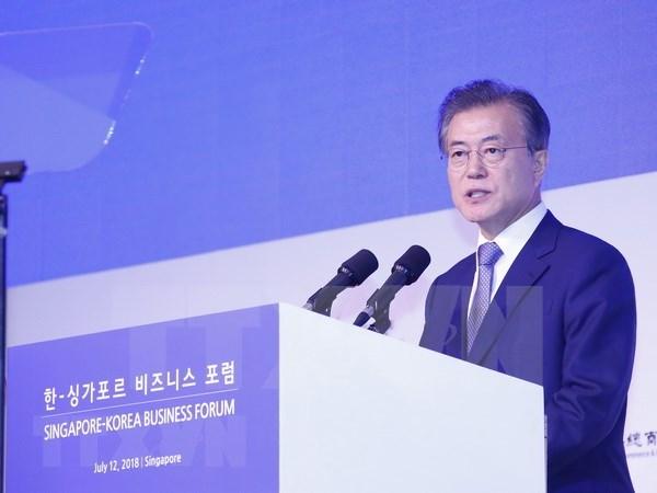 韩国总统承诺改善韩国与东盟之间的关系 hinh anh 1