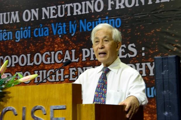 近100名外国科学家赴越出席国际物理学会议 hinh anh 1